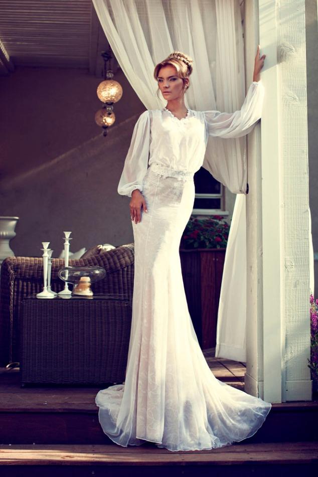 Nurit Hen Hochzeitskleid Kollektion 2014 - Idee Hochzeit auf Mallorca Spanien