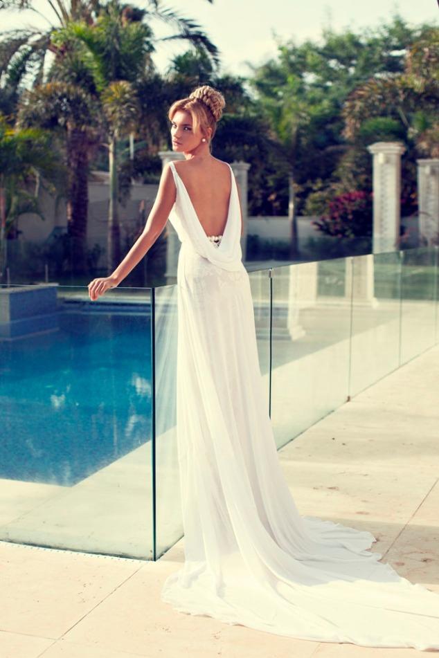 Nurit Hen Hochzeitskleid Kollektion 2014 - Idee Hochzeit auf Mallorca