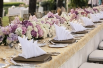 Hochzeitsdekoration Blumen Mallorca