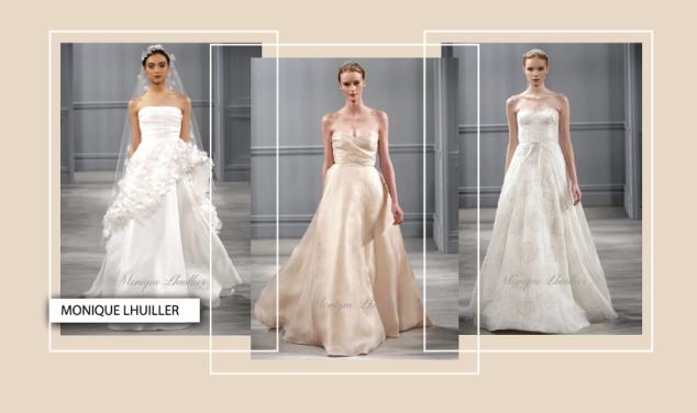 Weisse und farbige Brautkleider