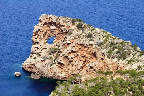 Punta de sa Foradada, Son Marroig, Mallorca