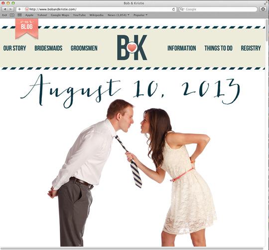 Eigene Hochzeitswebseite kostenlos