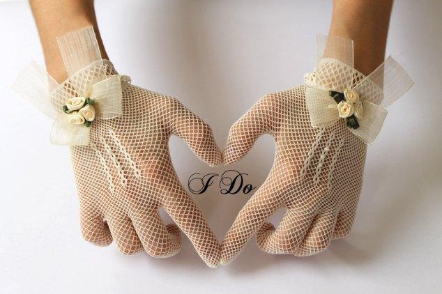 Handschuhe Hochzeit