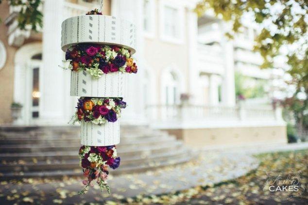 Kronleuchter Hochzeitstorte