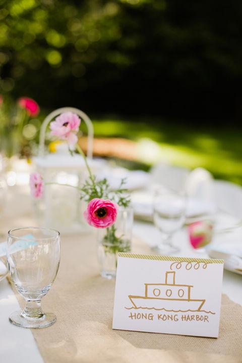 Ideen Tischdeko Hochzeit Einfach Heiter