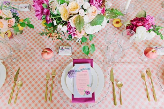 Ideen Tischdeko Hochzeit