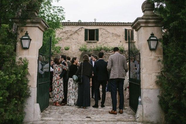 Eingang Finca Mallorca