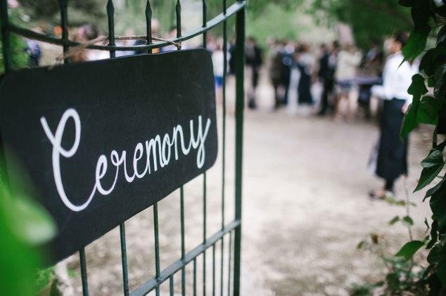Zeremonie Hochzeit Finca Mallorca
