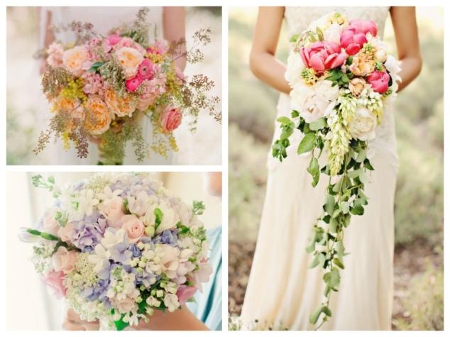 Romantische Brautstrauß-Inspirationen