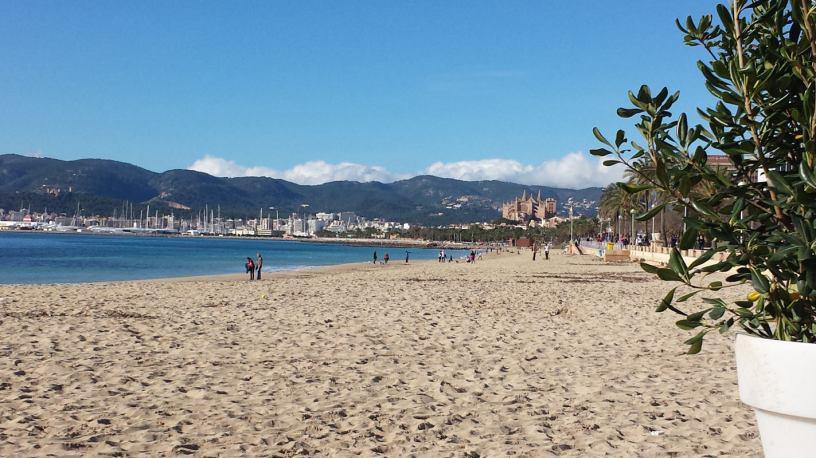 Beachsoccer auf Mallorca