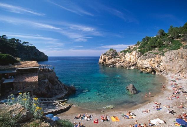 Restaurant Bucht Deia Mallorca