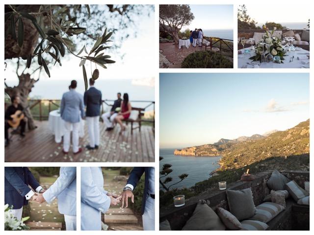 Intime Hochzeit Meerblick Mallorca