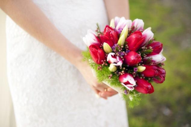 Braustrauß Tulpen Mallorca Inspiration
