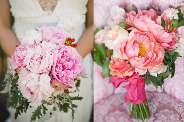 Pfingstrosen Brautstrauss Mallorca Blumen
