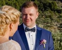 Anstecker Bräutigam Hochzeit Mallorca