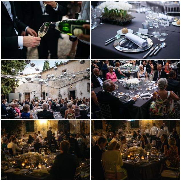 Dinner Finca Hochzeit Mallorca