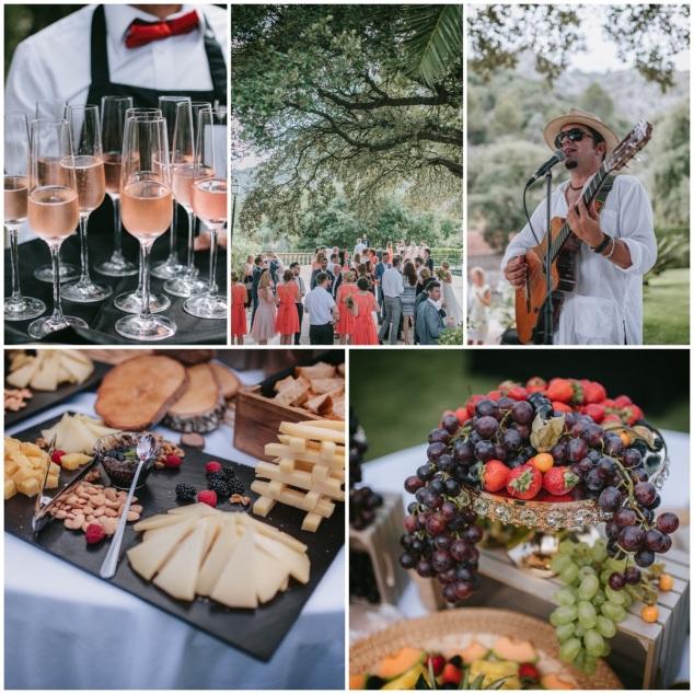Hochzeit Catering Buffet Mallorca