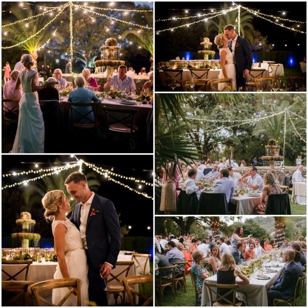 Lichterketten Hochzeit Mallorca