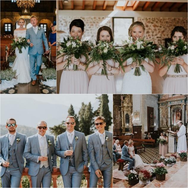 Boho Hochzeit Finca Mallorca