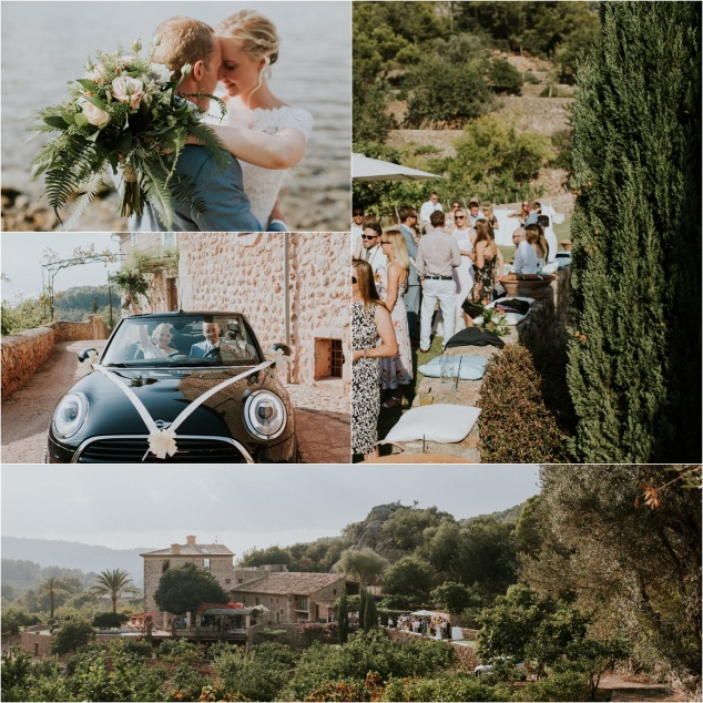 Boho Hochzeit Soller Mallorca