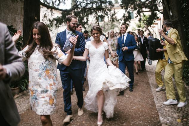 Hochzeit Mallorca Brautkleid