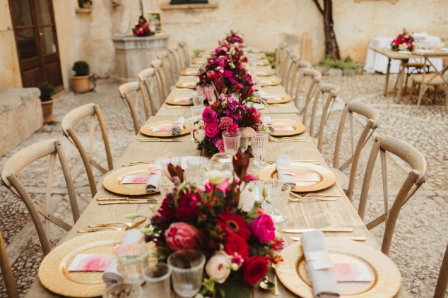 Tischdeko Hochzeit Mallorca